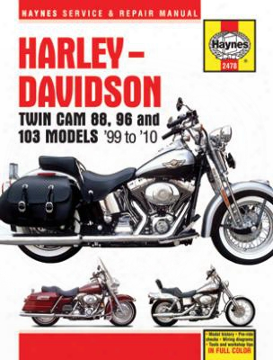Haynes Harley-davidson Twin Cam 88 1999-2010