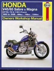 Haynes Honda V45/65 Sabre & Magna 1982-1988