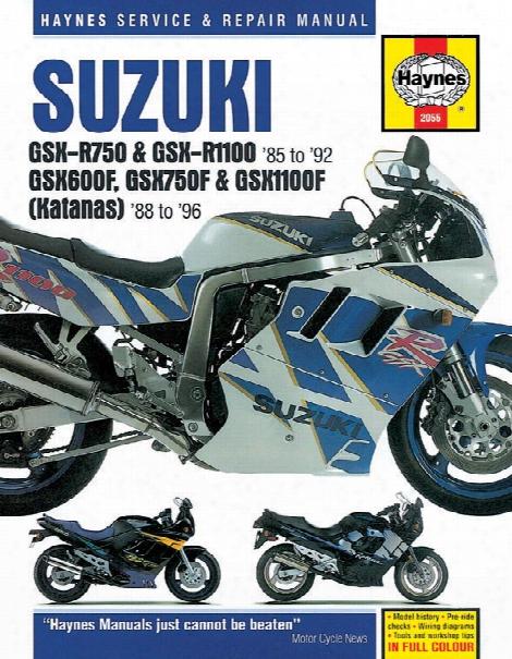 Haynes Suzuki Gsx-r & Katana Superbike 1985-1996