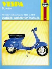 Haynes Vespa Scooters 1959-1978