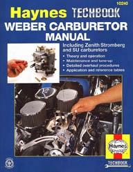Haynes Weber/zenith Stromberg/su Carburetor Manual
