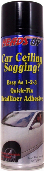 Heads-up Quick Fix Headliner Adhesive 19 Oz.