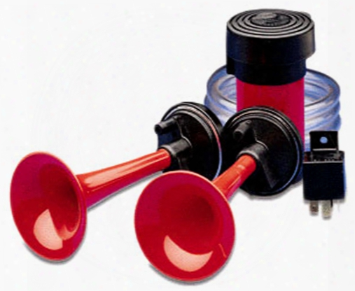 Hella 12v Twin 2-tone Air Horn Kit