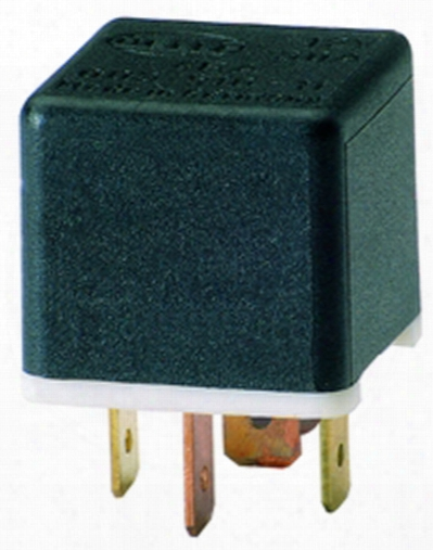 Hella 20/40 Amp Spdt Relay With Resistor