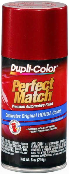 Honda & Isuzu Vehicles Metallic Bordeaux Red Auto Spray Paint - R78p 1991-1997