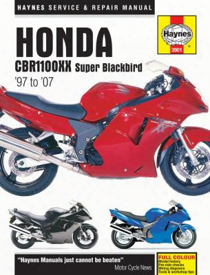 Honda Cbr1100xx Super Blackbird Haynes Repair Manual 1997-2007