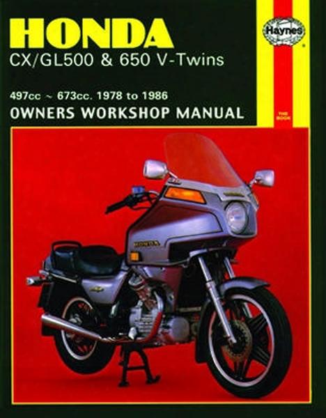 Honda Cx/gl500 & 650 V-twins Haynes Repair Manual 1978-1986