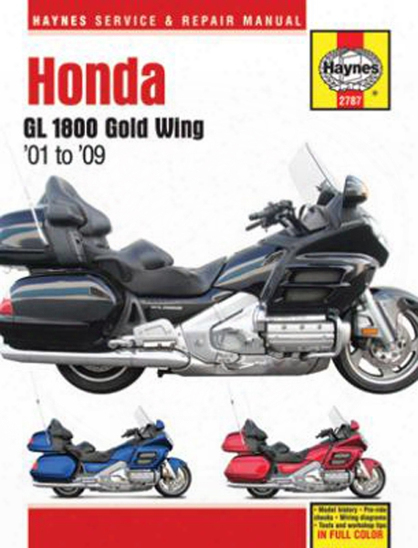 Honda Gl 1800 Gold Wing Haynes Repair Manual 2001-2009