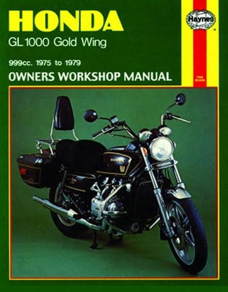 Honda Gl1000 Gold Wing Haynes Repair Manual 1975 - 1979
