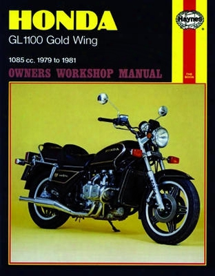 Honda Gl1100 Gold Wing Haynes Repair Manual 1979 - 1981