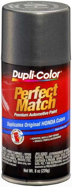 Honda Vehicles Metallic Graphite Gray Auto Spray Paint - Nh91m 1985-1988