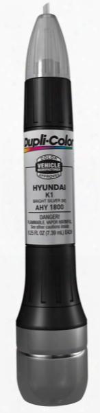 Hyundai Metallic Bright Silver All-in-1 Scratch Fix Pen - K1 2006-2011