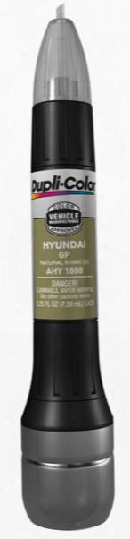 Hyundai Metallic Natural Khaki All-in-1 Scratch Fix Pen - Gp 2007-2010