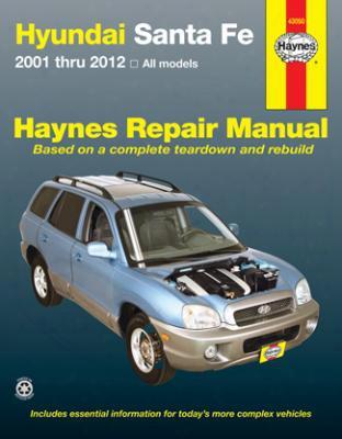 Hyundai Sante Fe Haynes Repair Manual 2001-2012