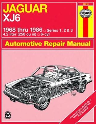 Jaguar Xj6 Haynes Repair Manual 1968-1986