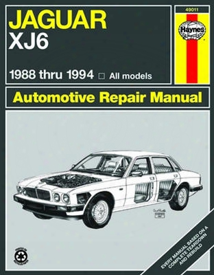 Jaguar Xj6 Haynes Repair Manual 1988-1994