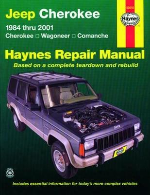 Jeep Cherokee Haynes Repair Manual 1984-2001