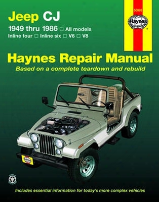 Jeep Cj Haynes Repair Manual 1949-1986