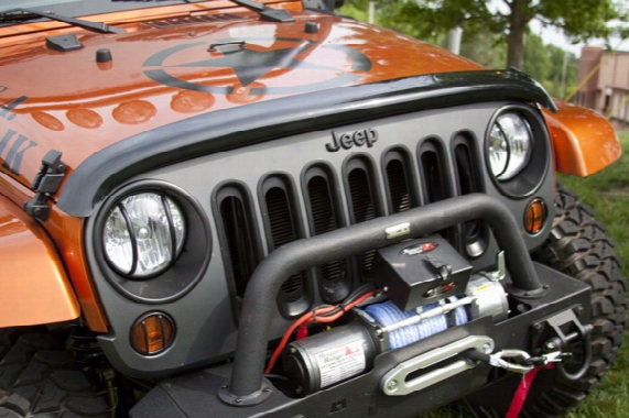 Jeep Wrangler Jk Smoke Bug Deflector 2007-2017