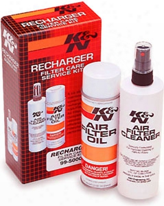 K&n Air & Oil Filter Cleaner Kit