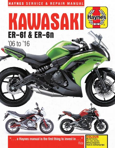 Kawasaki Ex650 & Er650 Haynes Repair Manual 2006-2016