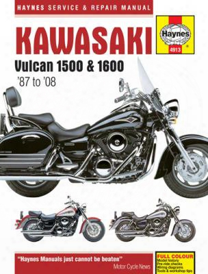 Kawasaki Vulcan 1500 & 1600 Haynes Repair Manual 1987-2008