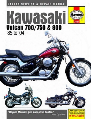 Kawasaki Vulcan 700 750 And 800 Haynes Repair Manual 1985 - 2004