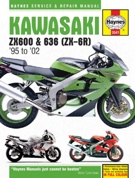 Kawasaki Zx-6r Haynes Repair Manual 1995-2002