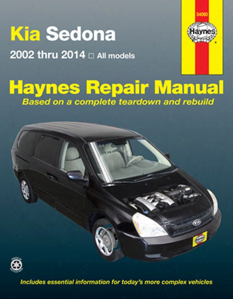 Kia Sedona Haynes Repair Manual 2002-2014