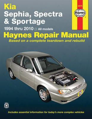 Kia Sephia And Spectra Haynes Repair Manual 1994-2010