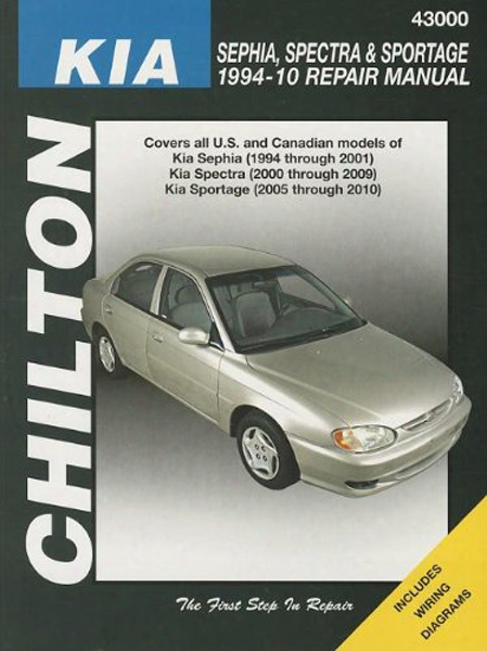 Kia Sephia Spectra & Sportage Chilton Manual 1994-2010
