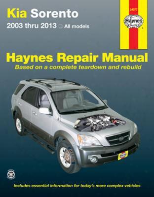 Kia Sorento Haynes Repair Manual 2003-2013