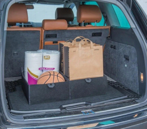 Kraco Premium Cargo Mat & Dual Compartment Cargo/trunk Organizer