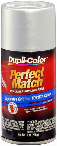 Lexus/toyota Metallic Platinum Silver Auto Spray Paint - 176 1991-1997