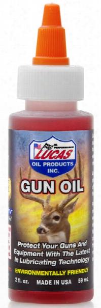 Lucas Gun Oil 2 Oz