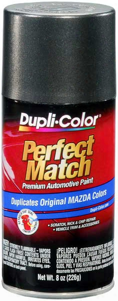 Mazda Metallic Graphite Mica Auto Spray Paint - 38r 2009-2014