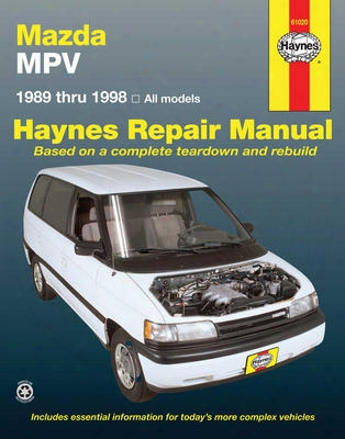 Mazda Mpv Haynes Repair Manual 1989-1998