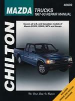 Mazda Trucks 1987-93 Chilton Manual