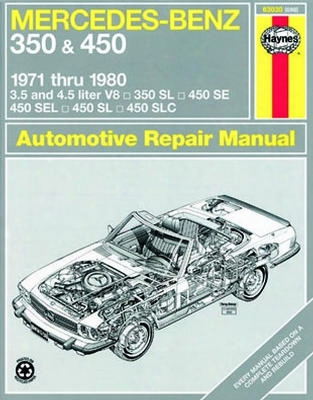 Mercedes Benz 350 & 450 Haynes Repair Manual 1971-1980