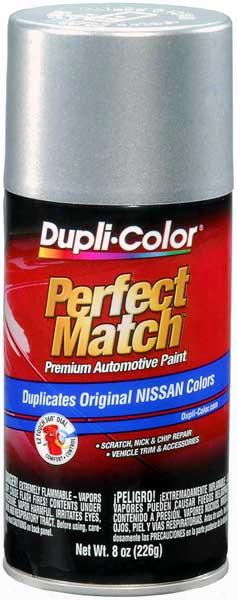 Met. Silver Mist For Infiniti Nissan & Suzuki Auto Spray Paint - K12 2004-2011