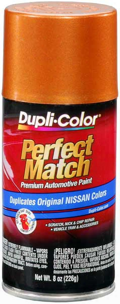 Metallic Orange Mist For Nissan Autoo Spray Paint - 14 1982-1986