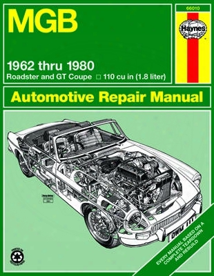 Mgb Haynes Repair Manual 1962-1980
