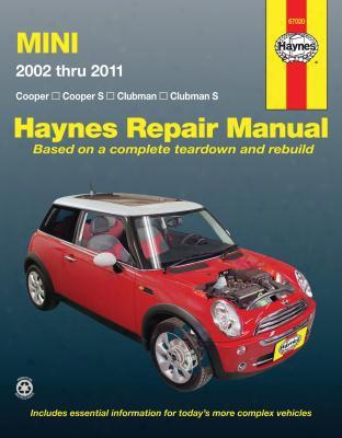 Mini Cooper & Clubman Haynes Repair Manual 2002-2011