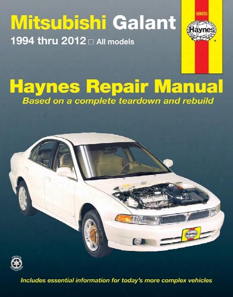 Mitsubishi Galant Haynes Erpair Manual 1994-2012