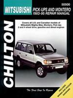 Mitsubishi Pick-ups/montero 1983-95 Chilton Manual