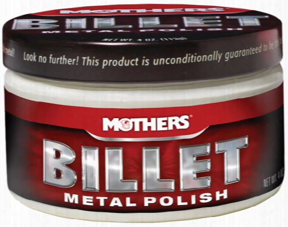 Mothers Billet Metal Polish 4 Oz.