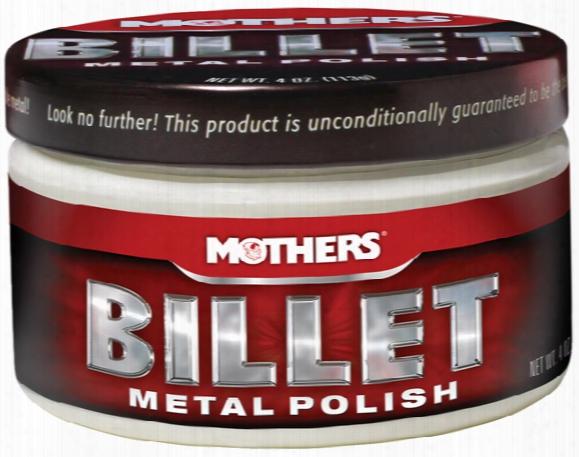 Mothers Billet Metal Polish 4 Oz.