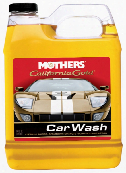 Mothers California Gold Car Wash 64 Oz
