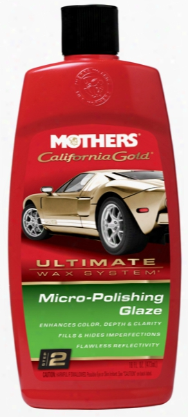 Mothers California Gold Micro-polishing Glaze 16 Oz