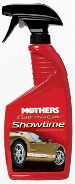 Mothers California Gold Showtime Instant Detailer 24 Oz.